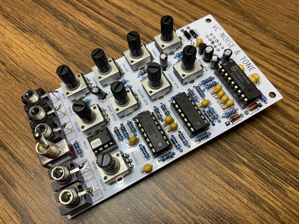 Noise & VC Tone Filter Module